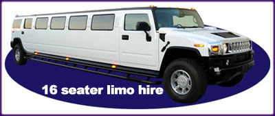 16 Seater Limo Hire